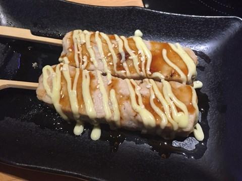 雞軟骨棒 - 銅鑼灣的富士山55 (拉麵沾麵專門店)