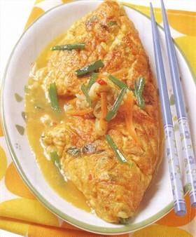 韓式風味蛋包飯